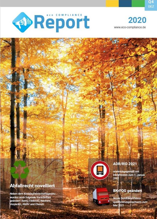 eco COMPLIANCE Report (TItelbild)
